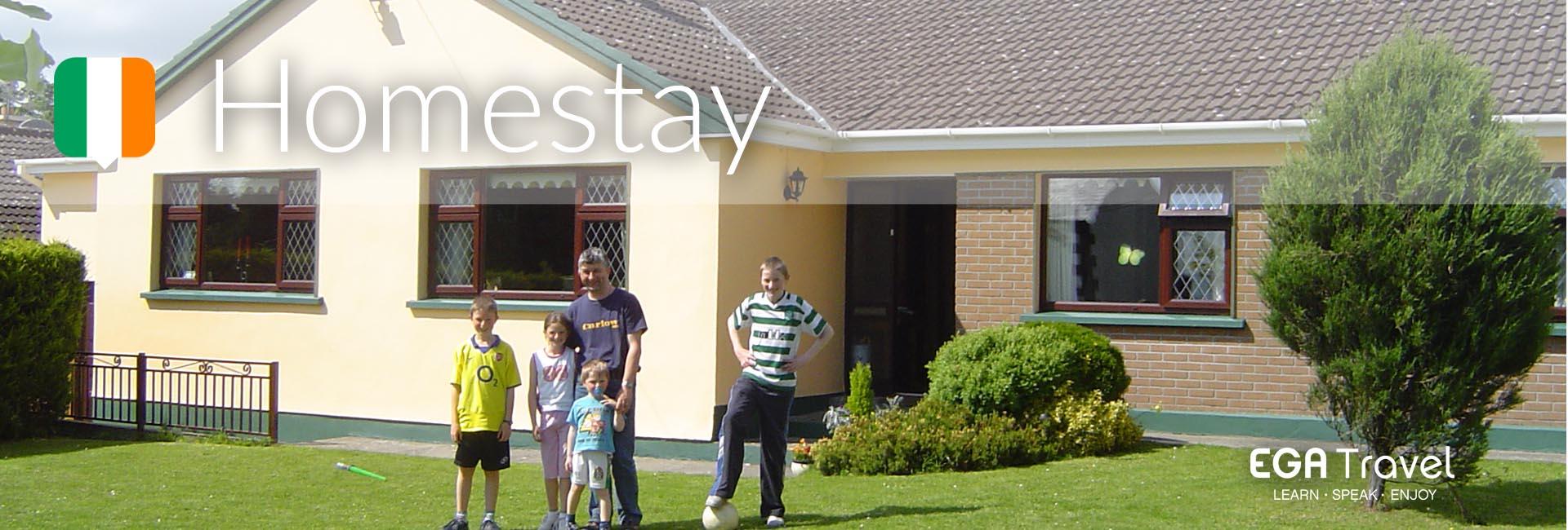 Programa Homestay Irlanda Jovenes