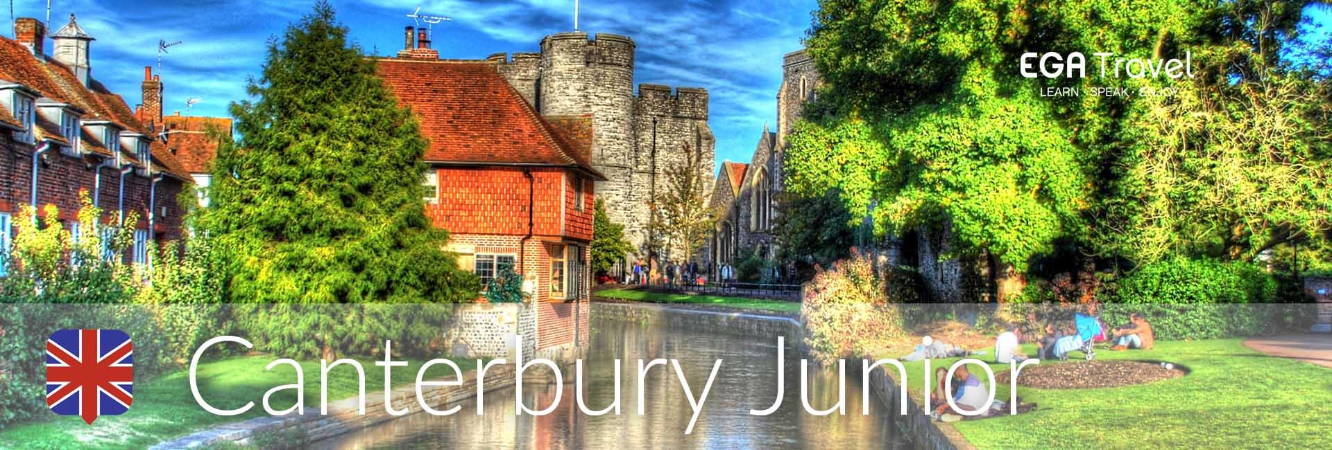 Canterbury Junior Inmersión Lingüística Reino Unido aprender inglés
