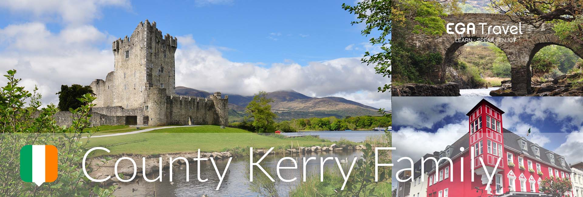 Viaje Familia Irlanda County Kerry Aprender Inglés