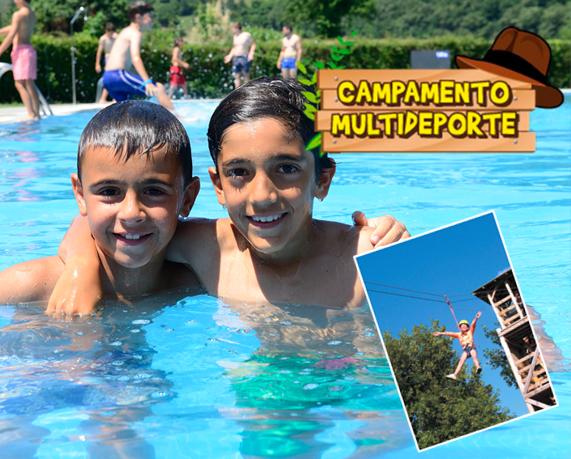Campamento Multideporte Verano Cantabria