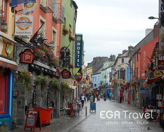 Galway inmersión lingüística adultos en Irlanda