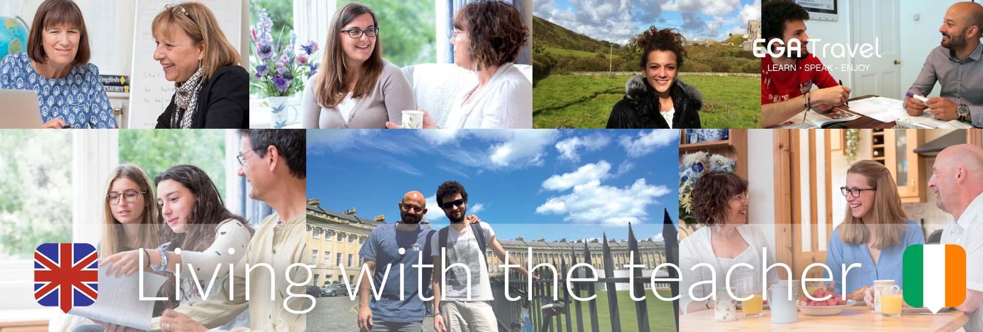 Living with the teacher Reino Unido Imersión Lingüística aprender inglés
