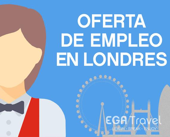 Oferta empleo Londres Hostelería
