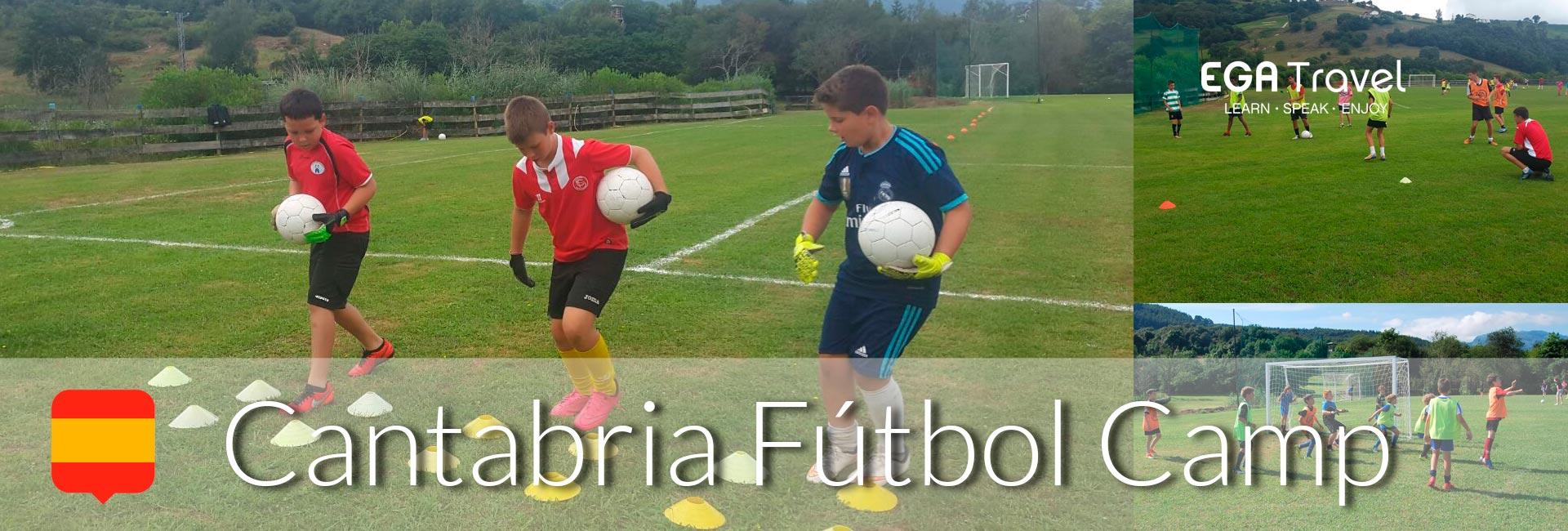 Campamento Fútbol Verano Cantabria