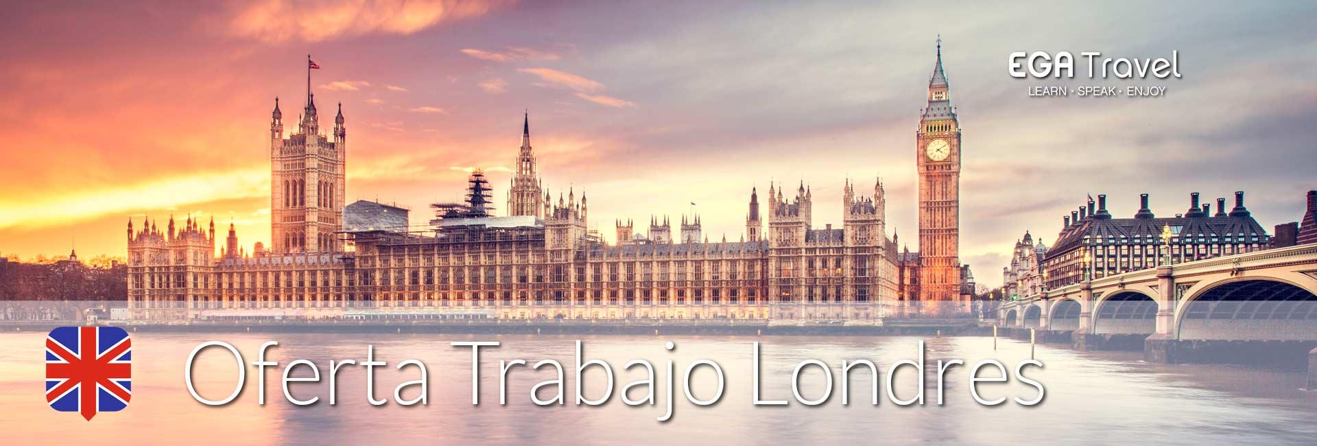 oferta trabajo Londres